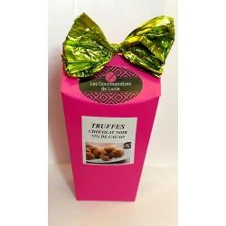 Truffes chocolat noir 73%...